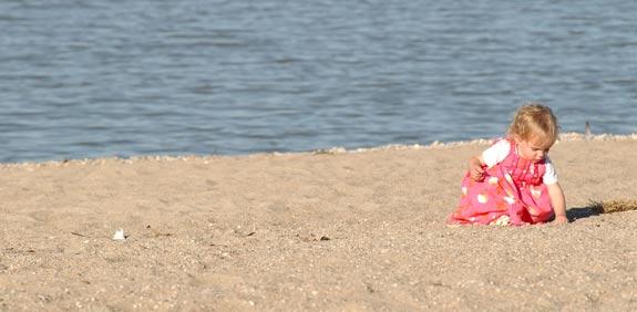 חוף ים ילדים חופש גדול / צלם: פוטוס טו גו